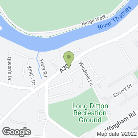 Map of Thames Ditton Honda in Thames Ditton, surrey
