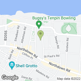 Map of MONTAGU COURT RESIDENTIAL HOME in Cliftonville, Margate, kent