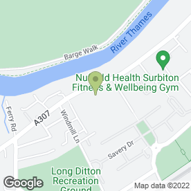 Map of Shurgard Self Storage - Surbiton in Surbiton, surrey