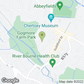 Map of Maki's Cakes in Chertsey, surrey