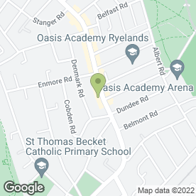 Map of Portland Medical Centre in London
