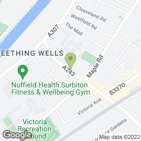 Map of Total Convenience Stores in Surbiton, surrey