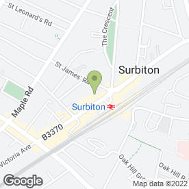 Map of Marketing Impact Ltd in Surbiton, surrey