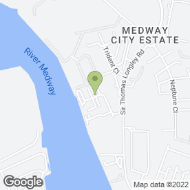 Map of SD Flooring in Medway City Estate, Rochester, kent