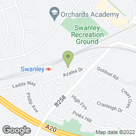 Map of CES in Swanley, kent