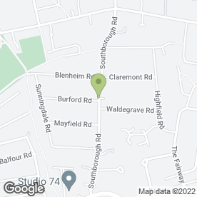 Map of Glendevon House Hotel in Bromley, kent