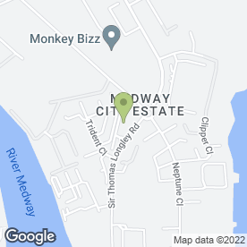 Map of Invicta Aerials Ltd in Medway City Estate, Rochester, kent