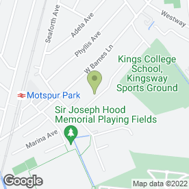Map of Solutions Plumbing & Heating LLP in New Malden, surrey