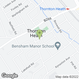 Map of Top Builders in Thornton Heath, surrey
