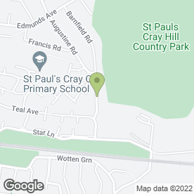 Map of DJ Landscapers in Orpington, kent