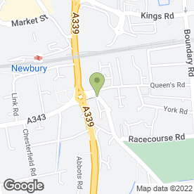 Map of AC Plumbing in Newbury, berkshire