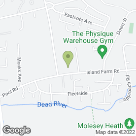 Map of Parkhurst Self Drive Hire Ltd in West Molesey, surrey