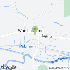 Map of Antiques & Collectables in Woolhampton, Reading, berkshire