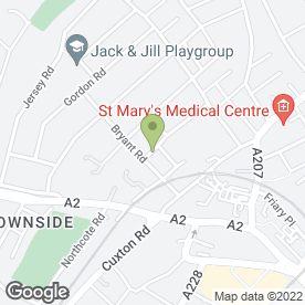 Map of STANHOPE VETERINARY CENTRE in Strood, Rochester, kent