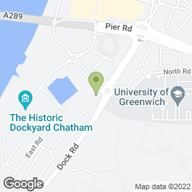 Map of Busy Bees Day Nursery in Chatham, kent