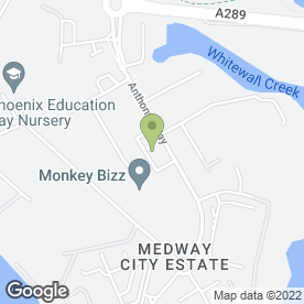 Map of Ward Security Ltd in Medway City Estate, Rochester, kent