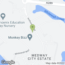 Map of Lifeline Fire & Security Ltd in Medway City Estate, Rochester, kent