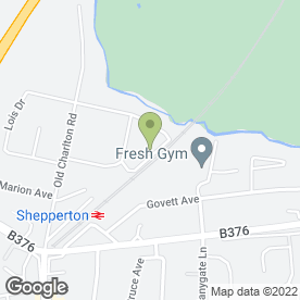 Map of STARR GUTTERING SPECIALISTS in Shepperton, middlesex