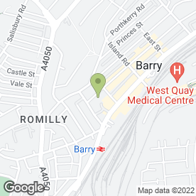 Map of Dawn Aesthetic Clinic in Barry, south glamorgan