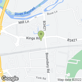 Map of Piper Autos in Newbury, berkshire