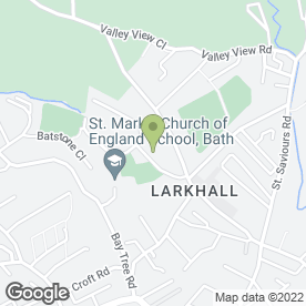 Map of APPLETREE DAY NURSERY in Larkhall, Bath, avon