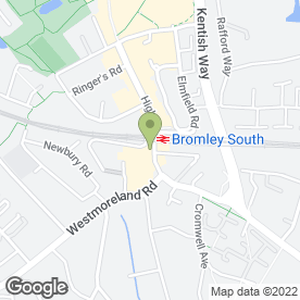 Map of Andrew Reeves Lettings in Bromley, kent