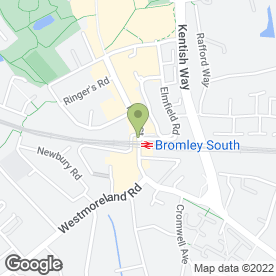 Map of JDM Estate Agents in Bromley, kent