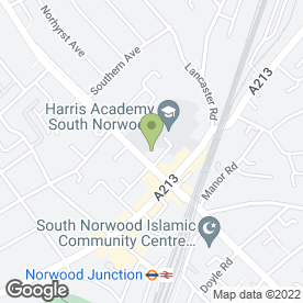 Map of Kumon maths and English study centre (Woodside) in LONDON, london