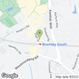 Map of Selclene Cleaning Services in Bromley, kent
