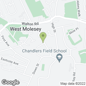Map of Master Gardens & Landscapes in West Molesey, surrey