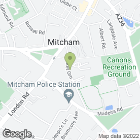 Map of Date Valley School in Mitcham, surrey