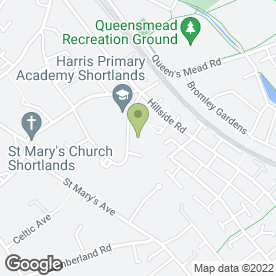 Map of Colour Counsellors in Bromley, kent