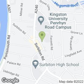 Map of Digital Data (UK) Ltd in Kingston-upon-Thames, surrey