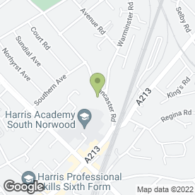 Map of Lancaster House Dental Practice in London, london