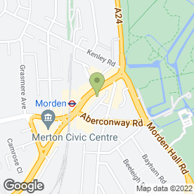 Map of Fonehouse in Morden, surrey