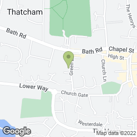Map of Thatcham & Newbury Maintenance Services in Thatcham, berkshire