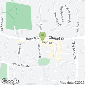Map of Crickets in Thatcham, berkshire