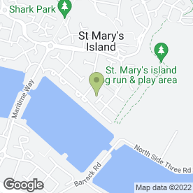 Map of Wedding Chair Covers in St. Marys Island, Chatham, kent