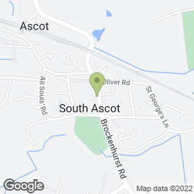 Map of Beautiful Angels Ltd in Ascot, berkshire