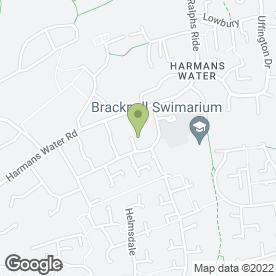 Map of Grime to Shine Bracknell in Bracknell, berkshire