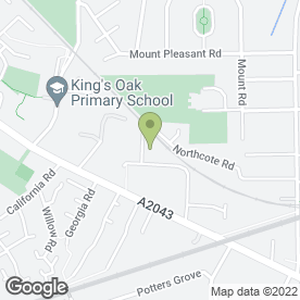 Map of Jewson Ltd in New Malden, surrey