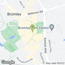 Map of Esquires Coffee (UK) Ltd in Bromley, kent