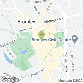 Map of Moss in Bromley, kent
