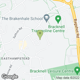 Map of Murtons Garden Services in Bracknell, berkshire