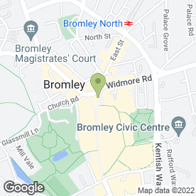 Map of Sage Clothing Ltd in Bromley, kent