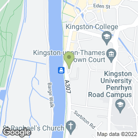 Map of Gold Driving School in Kingston Upon Thames, surrey