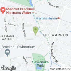Map of Dddesign in Bracknell, berkshire