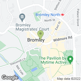 Map of Frames & Art Ltd in Bromley, kent