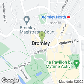 Map of Reid's Music Bromley in Bromley, kent