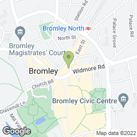 Map of Chimichanga in BROMLEY, kent